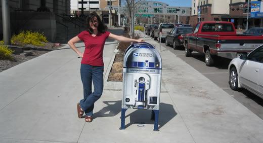 I look like C-3PO, huh?