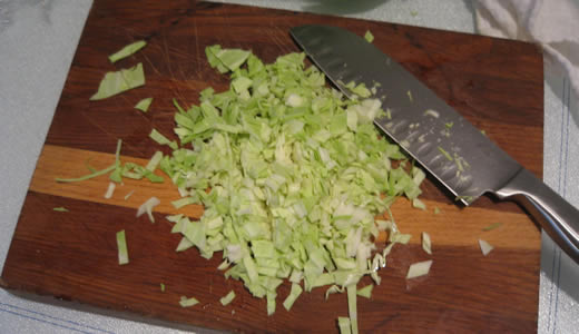 I love chopping stuff!