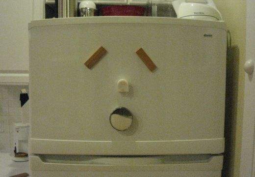 Emo Fridge is Tired