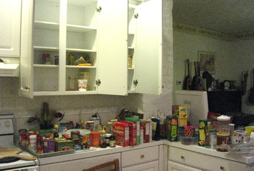 Look at all that unused food.  Shamefull.