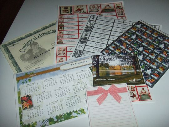 We never send Christmas mail, so most of these are just going on the bills.