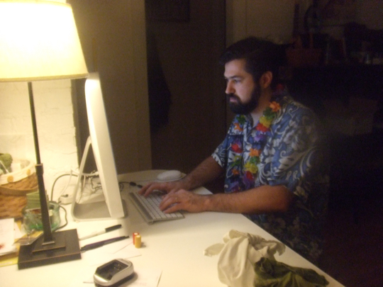 That's right - a Hawaiian shirt.