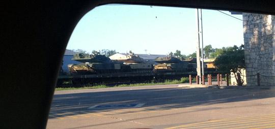 One tank