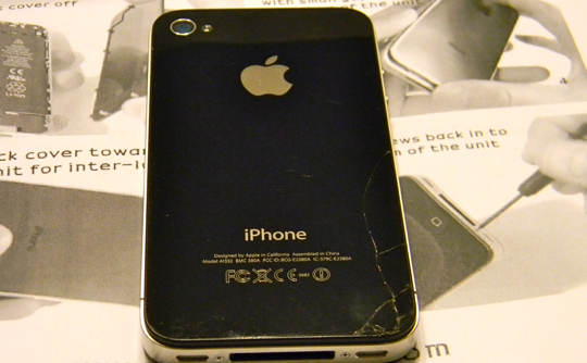 poor little iPhone4