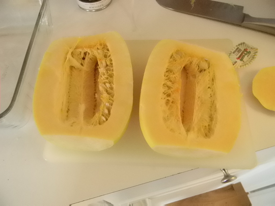 how to cut up squash